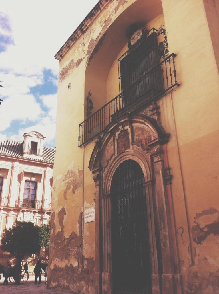 spanish building